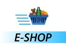 E-Geschäft Lizenzfreie Stockbilder