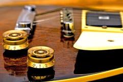 E-gitarr Arkivbilder