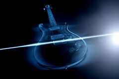 E-Gitarre Lizenzfreies Stockbild