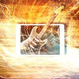 E-Gitarre - E-Commerce-Konzept Stockfoto