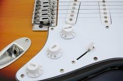 E-Gitarre - Schalter Stockbilder