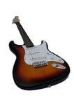 E-Gitarre und sehr große Schärfentiefe Lizenzfreies Stockfoto