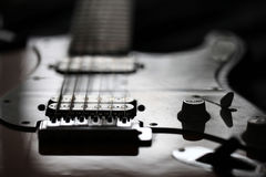 E-Gitarren-Felsen rund um die Uhr Stockfoto