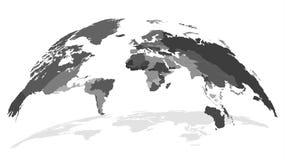 E global s?kerhet f?r begrepp royaltyfri illustrationer