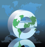 E-globe Stock Photos