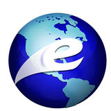 E globe Stock Photos