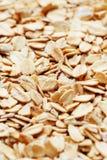 E Grani della farina d'avena Vista superiore della prima colazione di Healty Primo piano fotografie stock