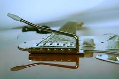 E-Guitarra foto de archivo libre de regalías