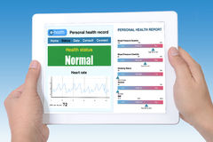 E-health information. Stock Photos