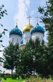 E Heiliges Dreiheit-St. Sergiev Posad stockfotos