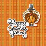 E Illustration de vecteur de thanksgiving Photos stock