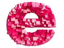 e internetów czerwieni symbol Zdjęcia Royalty Free