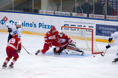 E. Ivannikov (31) in action Stock Image