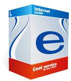 E- Kasten lizenzfreie stockfotografie