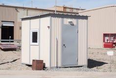 E Le bâtiment mobile, est situé sur l'indust photographie stock libre de droits