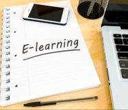 E-Learning Stockfoto