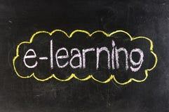 E-learning Immagine Stock Libera da Diritti