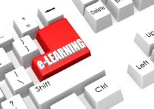 E-learning Royalty Free Stock Photo