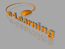 E-Learning - 3D Stock Photos