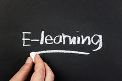 E-learning Fotografie Stock