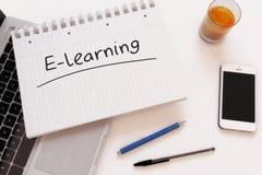 E-Learning Lizenzfreies Stockfoto