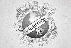 E-learning Fotografie Stock Libere da Diritti