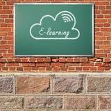 E-Learning lizenzfreies stockbild
