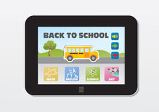 E-learning, back to school Royalty Free Stock Image