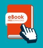 E-learning  concept design Royalty Free Stock Photos