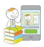 E-learning concept Stock Photos