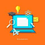 E learning Concept Royalty Free Stock Photography
