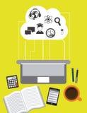 E-learning design Stock Photo