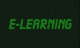 E-Learning Digital-(01) Lizenzfreies Stockbild