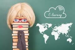 E-Learning education concept Stock Photos