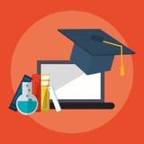 E-learning education design Stock Photo