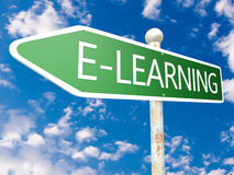 E-Learning Royalty Free Stock Photos
