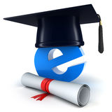 E-learning symbol Stock Image