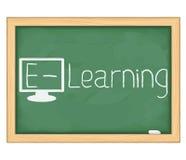 E-Learningbegrepp Royaltyfri Bild