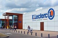 e Leclerc supermarket fotografia royalty free
