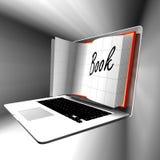 E-leert: Computer of Internet overdracht van vaardigheden Royalty-vrije Stock Foto