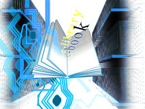 E-libreria Fotografia Stock