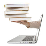 E-Libro. Fotografía de archivo libre de regalías