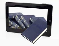 E-libro immagini stock libere da diritti