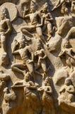 E Mahabalipuram, Tamil Nadu, India stock fotografie