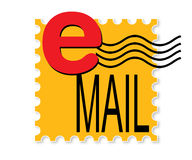 e - mail Fotografia Stock