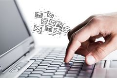 e - mail zdjęcia royalty free