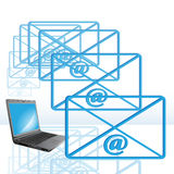 E-mail Royalty Free Stock Image