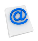 E-mail Royalty Free Stock Photos
