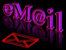 E-mail Royalty Free Stock Photo