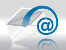 E-Mail. Web E-Mail (Envelope With Space For Your Text Royalty Free Stock Photo